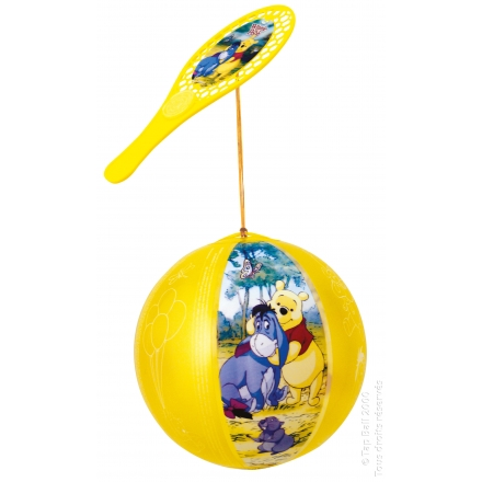 Tap-Ball WINNIE L'OURSON & CO Couleurs Assorties x12
