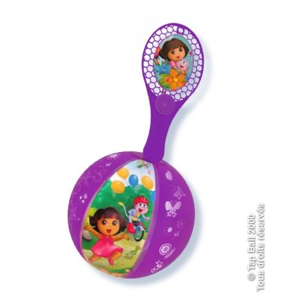 Tap-Ball DORA L'EXPLORATRICE Couleurs Assorties x12