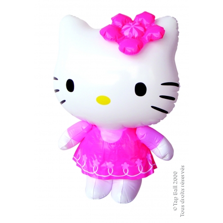 x12 HELLO KITTY Poupee Gonflable 60cm