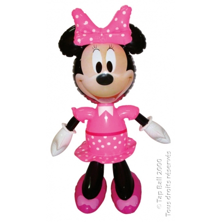 x12 MINNIE Poupee Gonflable 60cm