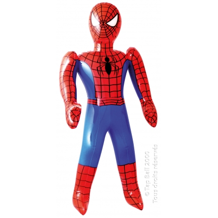 x12 SPIDERMAN Poupee Gonflable 60cm