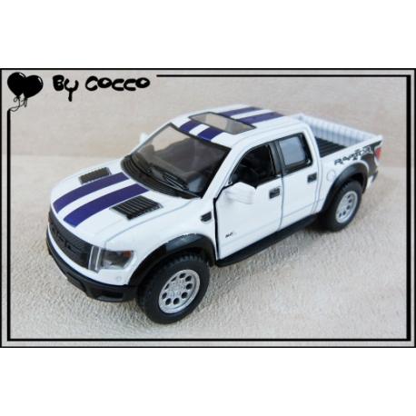 Ford Raptor Rétrofriction 12,5cm Blanc
