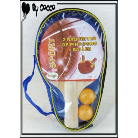 Set Ping-Pong Rouge