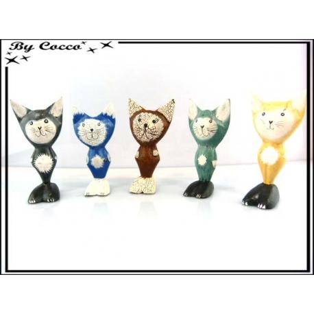 Décoration Petits Chats Multicolor x10