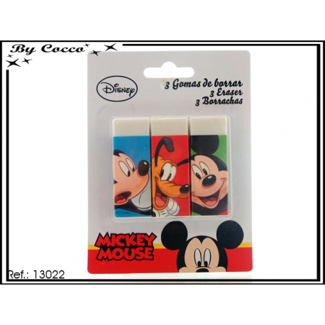 Gommes Mickey