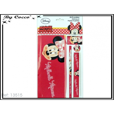 Kit d'écriture + Trousse Minnie