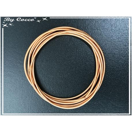 Ensemble de 6 bracelets - Orange