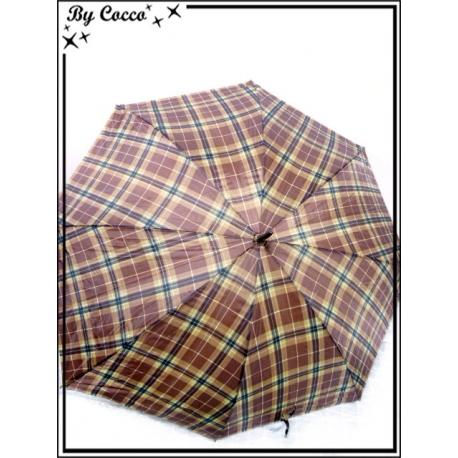 Parapluie - Canne - Motif écossais