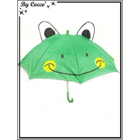 Parapluie enfant - Canne - Grenouille