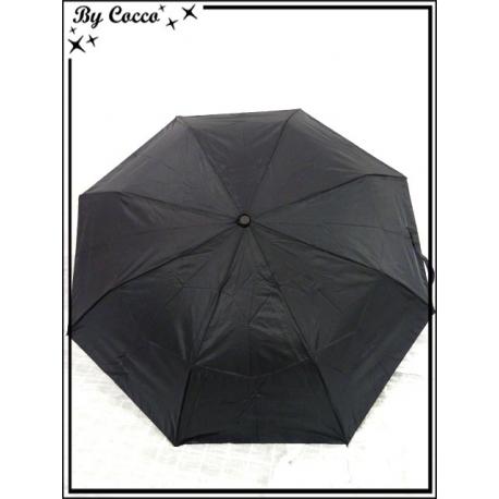 Parapluie - Pliable - Canne - Noir