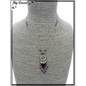 http://cocconelle.com/30134-thickbox/collier-coeur-dans-un-rond-perles-noir-rouge-argent.jpg
