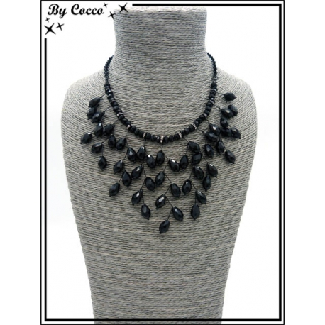 Collier - Branches - Noir