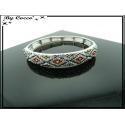 Bracelet - Elastique - Losanges - Multicolor