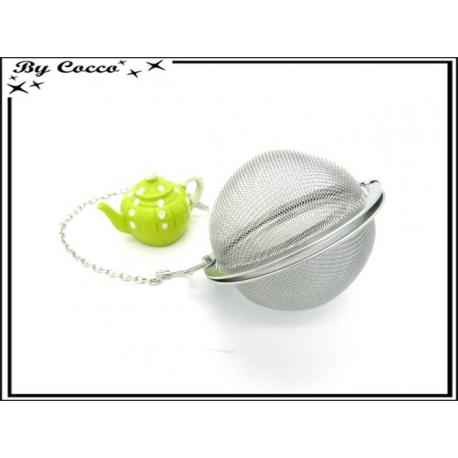 Boule à thé - Théière - Vert