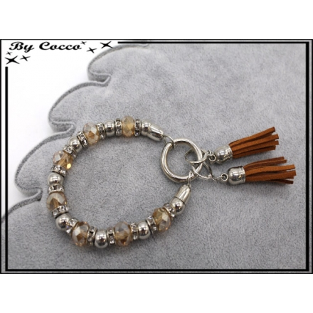 Bracelet - Stella Green - Perles / Pompons - Marron