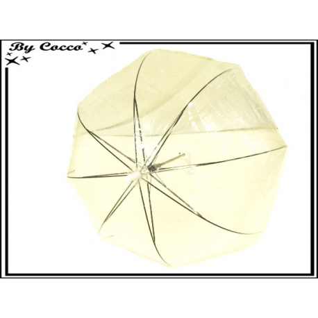 Parapluie - Canne - Cloche - Transparent
