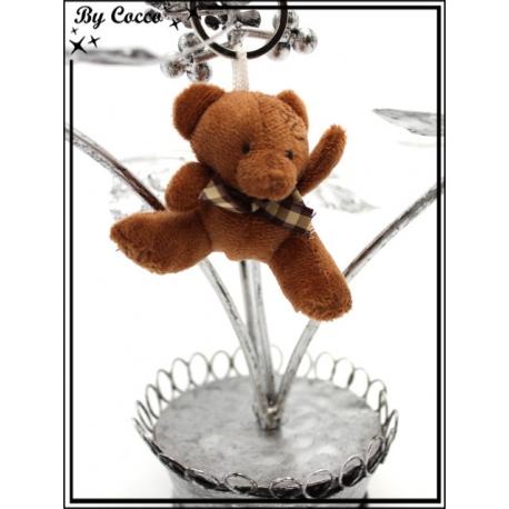 Bijoux de sacs - Petit ours - Chocolat
