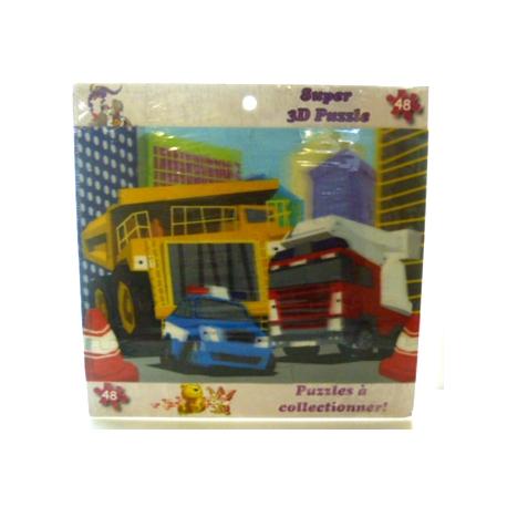 Puzzle 3D 48 Pièces Grande Ville