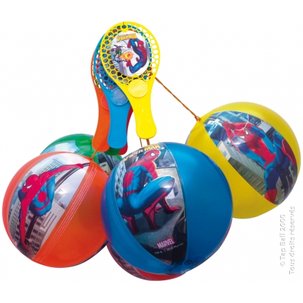 Tap-Ball SPIDERMAN Couleurs Assorties x12
