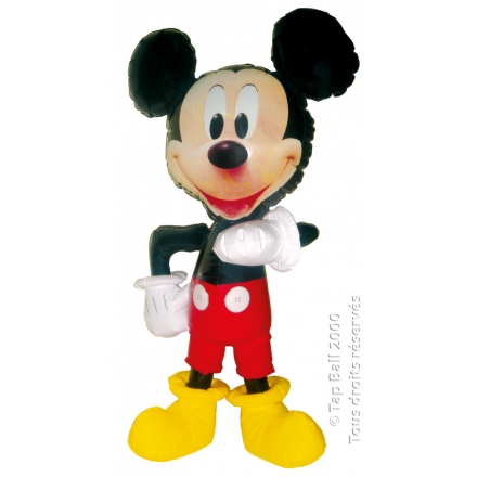 x12 MICKEY Poupee Gonflable 60cm