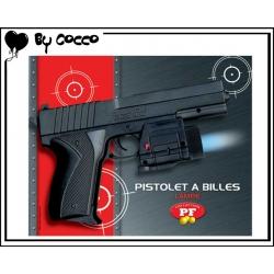 Pistolet à Billes Plastique avec Lampe (Piles Incluses) 9cm x 6cm