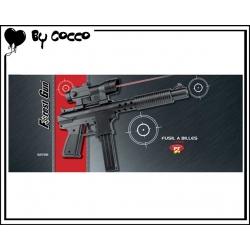 Fusil à Billes Plastique avec Laser (Piles Incluses) 30cm x 15cm