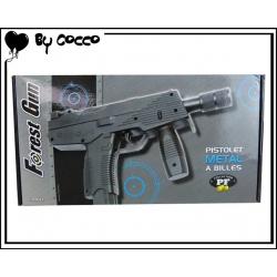 Pistolet à Billes Métal 32cm x 15cm