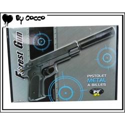 Pistolet à Billes Métal 21cm x 15cm