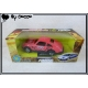 Voiture  Sport 7cm Roues Libres Rose