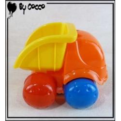 Camion Benne Orange/Jaune