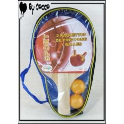 Set Ping-Pong Rouge