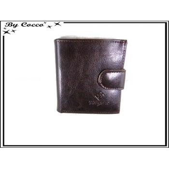 Petit portefeuille - Porte monnaie - Chocolat