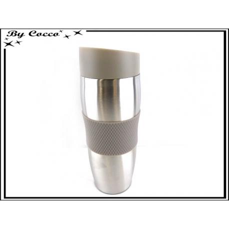 Mug Isolant Double Paroie - Taupe