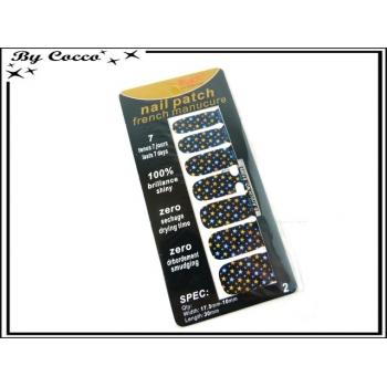 Patch ongles - Petites étoiles - Multicolor