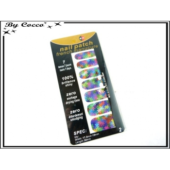 Patch ongles - Etoiles - Multicolor
