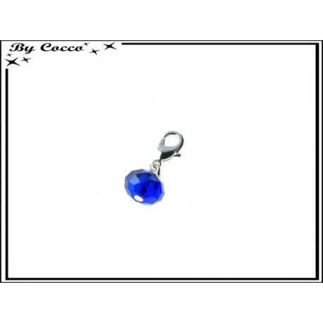 Charm - Pierre à facette - Bleu roi