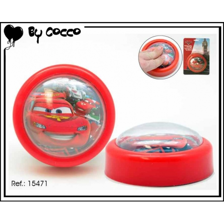 Veilleuse Cars Rouge
