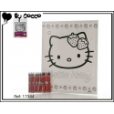 Tableau à Colorier Hello Kitty (12 crayons cire inclus)