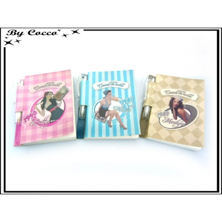 Petits bloc notes - Stylos - Pin-up x3