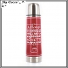 Thermos - Messages - 450 Ml - Rouge / Noir