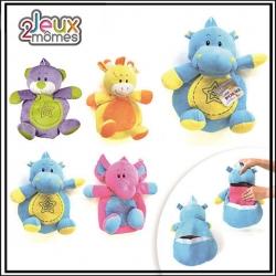 Range pyjamas - Animaux colorés - Eléphant