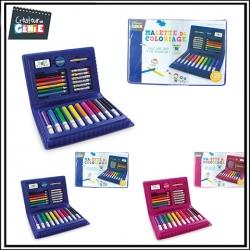 Mallette coloriage - 25 Pièces