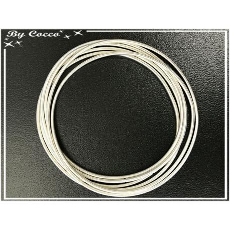 Ensemble de 6 bracelets - Blanc