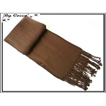 Pashmina - Uni - Chocolat