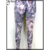 Legging - Motifs - Arabesques - Gris