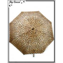Parapluie - Canne - Motif léopard