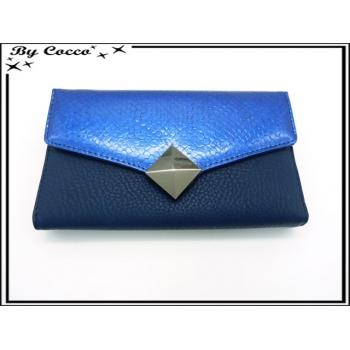 Compagnon - Vernis - Losange - Bleu marine