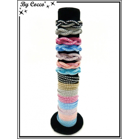 Bracelets - Stella Green - Tressés / Double rangs - Multicolor (x15)