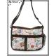 Vivi Secret 21 - Besace rectangle - 3 poches avant - Extensible - Gourmandises - Multicolor