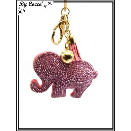 Bijoux de Sacs - Elephant - Rose